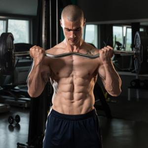 筋疲労をしっかり得るためにドロップセット法を取り入れる