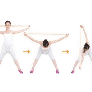 超簡単!肩甲骨周りのエクササイズで冷え性対策[③肩甲骨を寄せる]