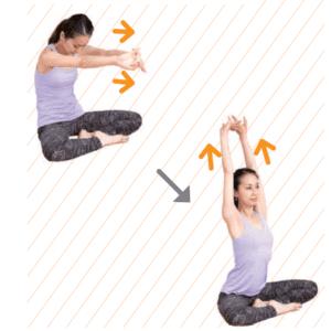 ストレスを呼吸で解消。簡単にすぐできるストレッチ方法[STEP3]