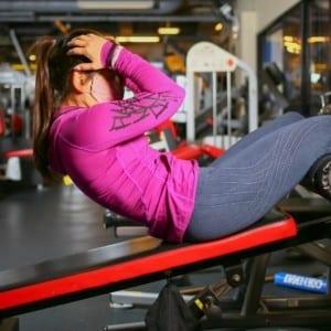 腹直筋にピンポイント!効果を上げるシットアップのやり方【筋量増やしてお腹の脂肪を撃退:Training2】