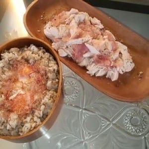 筋トレ飯|ヘルシーに翌日のパワーをつける『食べ過ぎリセット筋肉ご飯』