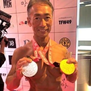 【SBC】58歳部長は脱いでもすごかった!肉体美大会で満点優勝