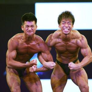 プロレスのリングでボディビル!?6.13大阪クラス別ボディビル選手権