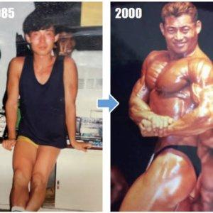 【仰天ビフォーアフター】最初は49.8kgの男が防弾ベストのような腹筋を持つ男に!谷野義弘