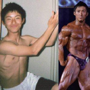 【衝撃ビフォーアフター】48kgのガリガリが44Kg増えて世界王者になった!鈴木雅