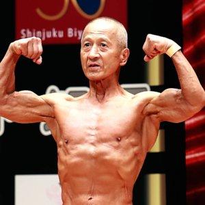 フォトギャラリー 70歳越えでも筋肉隆々!=7.25 東京マスターズ男子ボディビル選手権