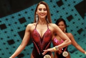 道端カレン、美ボディコンテスト全国大会出場。決勝進出は叶わずも充実の笑顔「ショーのように筋肉を見せる楽しさがあった」