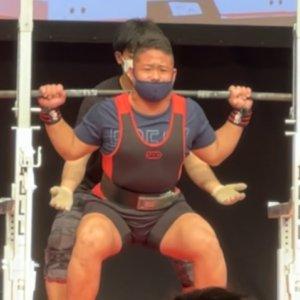 スクワット180kg!ベンチプレス130kg!東京都サブジュニアNo.1に輝いた高校生ラガーマン!