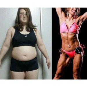 体重80kg・体脂肪率50%!「痩せたら迎えにいく」と言われ36kg減!【筋トレで大変身!ダイエットビフォーアフター】