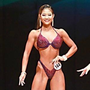 女子大生の柿夏芽が筋肉美コンテスト全国大会の激戦カテゴリを制す「最初からこういう計画ではありました」