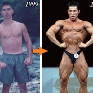 【仰天ビフォーアフター】ボディビル最軽量級からのスタート・佐藤貴規の筋肉アップデートトレーニングヒストリー